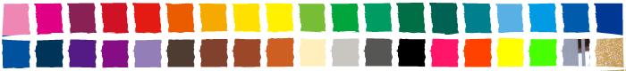 カッティング用シート 他の色もご用意してあります。