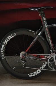 I2028n④自転車にオリジナル切り文字